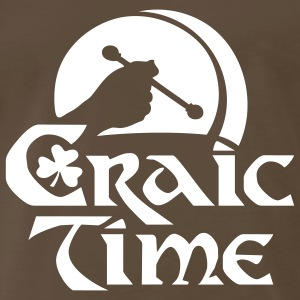 Craic time T-Shirts - Men's Premium T-Shirt