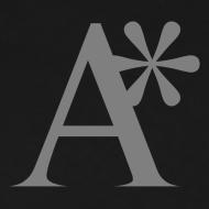 Design ~ Men's A* logo T