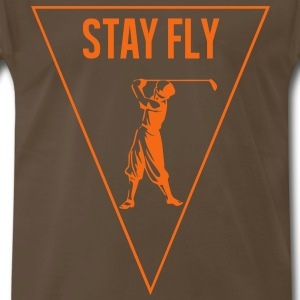 stay_fly_golf T-Shirts - Men's Premium T-Shirt