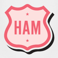 Design ~ Ham Badge Toddler T-Shirt