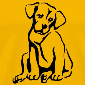 pet_pets_dog_dogs T-Shirts - Men's Premium T-Shirt