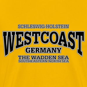Germany Westcoast (black) - Men's Premium T-Shirt