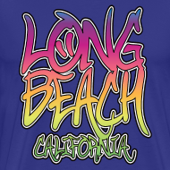 Design ~  Long Beach Graffiti Heavyweight T-Shirt