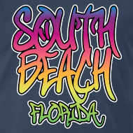 Design ~ South Beach Graffiti Heavyweight T-Shirt