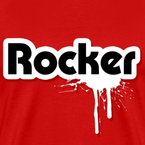 Rocker Graffiti - Men's Premium T-Shirt
