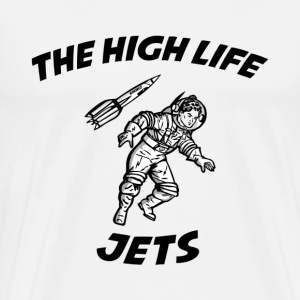 The High Life - Jets T-Shirts - Men's Premium T-Shirt