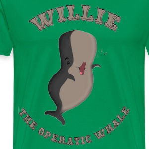 Willie the Whale T-Shirts - Men's Premium T-Shirt