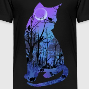CATSMOON Toddler Shirts - Toddler Premium T-Shirt