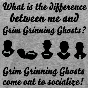 Grim Grinning Ghosts - Men's Premium T-Shirt