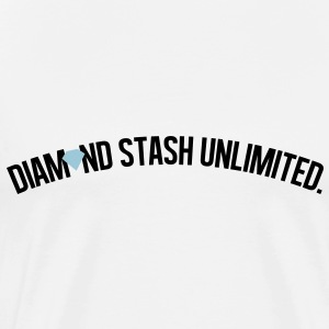diamond_stash_unlimited_ii T-Shirts - Men's Premium T-Shirt