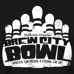 BREW CITY BOWL T-Shirts - Men's Premium T-Shirt
