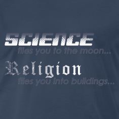 Science vs. Religion 2 T-Shirts