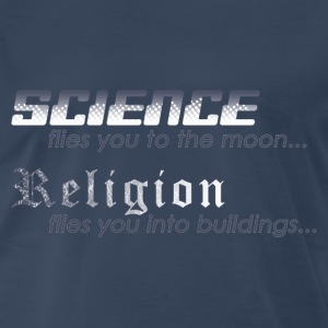 Science vs. Religion 2 T-Shirts - Men's Premium T-Shirt