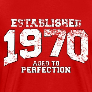 established_1970 T-Shirts - Men's Premium T-Shirt