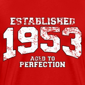 established_1953 T-Shirts - Men's Premium T-Shirt