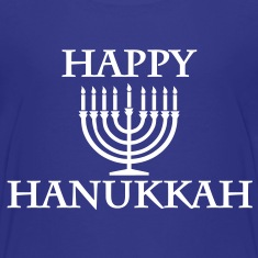 Happy Hanukkah Kids' Shirts