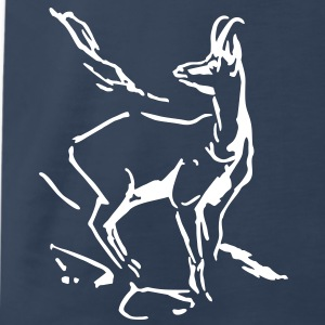 Mountaingoat chamois T-Shirts - Men's Premium T-Shirt