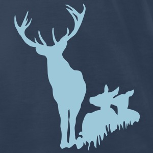 Deer Family - Stag T-Shirts - Men's Premium T-Shirt