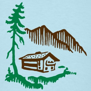 Alps Landscape T-Shirts - Men's T-Shirt