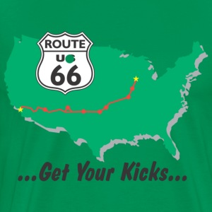 Route 66 - Men's Premium T-Shirt