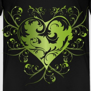 heart - green Baby & Toddler Shirts - Toddler Premium T-Shirt