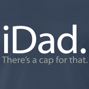 Father's Day iDad - Men's Premium T-Shirt