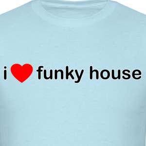 I Love Funky House - Men's T-Shirt