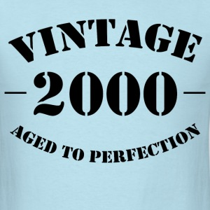 Vintage 2000 Aged to Perfection - Men's T-Shirt