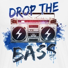 drop the bass T-Shirts