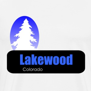 Lakewood Colorado t shirt truck stop novelty - Men's Premium T-Shirt