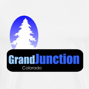 grand junction Colorado t shirt truck stop novelty - Men's Premium T-Shirt