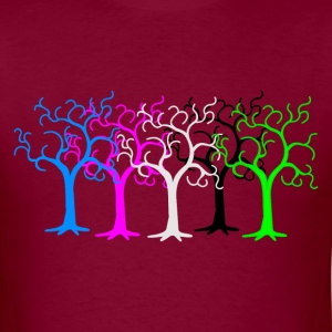 colored forest - digital T-Shirts - Men's T-Shirt