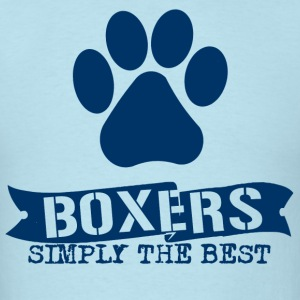 Boxers simply the Best - Men's T-Shirt