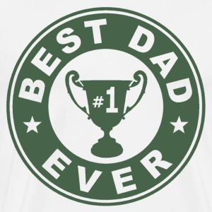 Best Dad Ever Trophy - Men's Premium T-Shirt