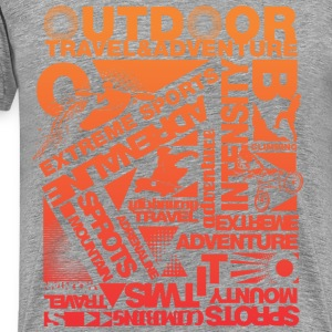 Outdoor Sports - Men's Premium T-Shirt