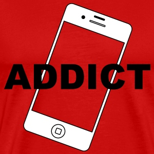 Phone Addict T-Shirts - Men's Premium T-Shirt