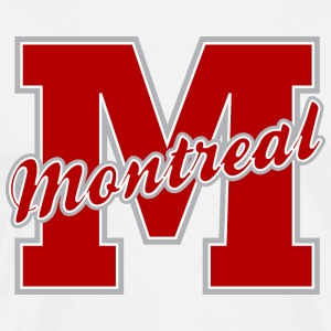 Montreal Letter Heavyweight T-Shirt - Men's Premium T-Shirt