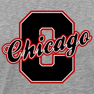 Chicago Letter Heavyweight T-Shirt - Men's Premium T-Shirt