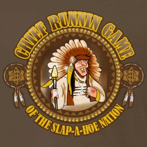Chief Runnin Game - Men's Premium T-Shirt