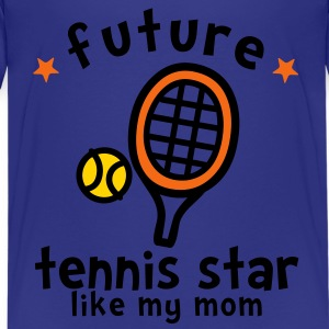 Tennis Star Like Mom Kids' Shirts - Kids' Premium T-Shirt