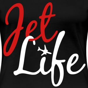 Jet Life Women's T-Shirts - stayflyclothing.com - Women's Premium T-Shirt