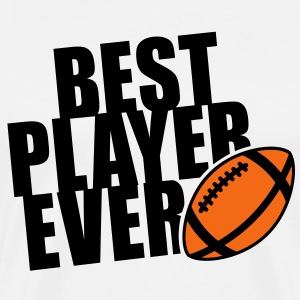 BEST FOOTBALL PLAYER EVER 2C T-Shirt BW - Men's Premium T-Shirt
