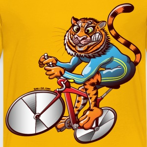 Olympic Cycling Tiger Kids' Shirts - Kids' Premium T-Shirt