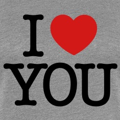I love You (black text) Women's T-Shirts
