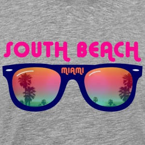 South Beach Miami sunglasses T-Shirts - Men's Premium T-Shirt