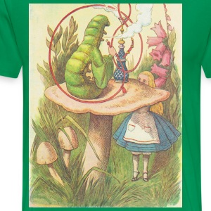 The Hookah Smoking Caterpillar T-Shirts - Men's Premium T-Shirt