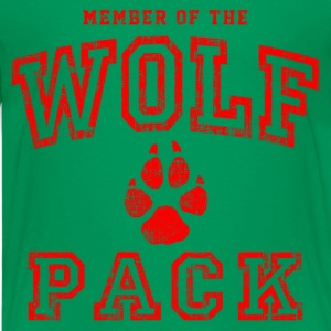 Wolf Pack Red Kids' Shirts - Kids' Premium T-Shirt