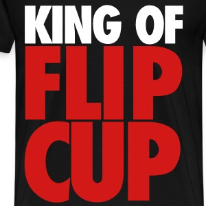 King of FlipCup - Men's Premium T-Shirt