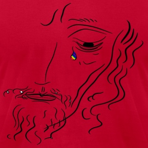 Jesus Wept - Men's T-Shirt by American Apparel