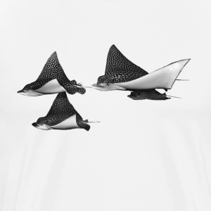 Spotted Eagle Rays T-Shirts - Men's Premium T-Shirt